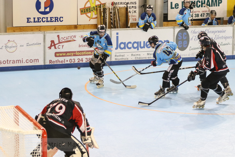 Patrick Mayon Roller Hockey Laupersdorf Vs Mannheim